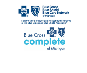 Blue Cross Complete and BCBSM